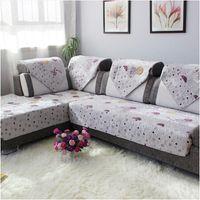 Wholesale new cotton sofa cushion fabric sofa cover fashion sofa cover set quilting slip resistant sofa cover towel