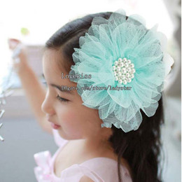 Wholesale Korean Hair Clips Fashion Hair Flowers Girl Hair Clips Children Hair Accessories Kids Alligator Clips Flower Barrettes Baby Hair Accessories