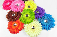 Cheap Latest Trendy Women Daisy Flower Hair Accessories With Headband Baby Cute Hairband Crystal Center Hair Clips 22Pcs Set Headwear 1965