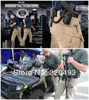 Wholesale IX7 Tactical Cargo Pants Men Casual SWAT Combat Training Multi pockets Trousers Overalls Cotton Sports Military Army Pant