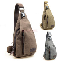 Wholesale Outdoor Fashion Men Travel Messenger Bags Canvas Sport Male School Cross Body Bags Casual Hiking Military Shoulder Bag