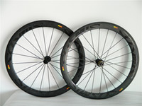 Wholesale Hot Sale MM Carbon Road Bike Wheels Clincher Cosmic Twill Carbon Bicycle Wheelset C