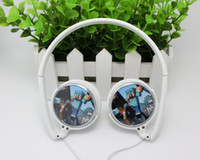 Wholesale cheap retail custom minecraft Head mounted mp3 headphones CM Headset Princess Anna Elsa Olar Headset Queen cartoon headphone Earphone