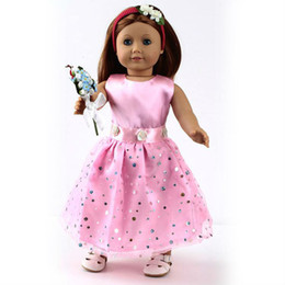 Wholesale Doll Clothes outfit fits for quot American Girl Dolls wear fishion accessory dress gift present AGC