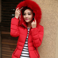 Wholesale Korean new arrive women s down coat large size women s Slim short feather padded cotton jacket cotton jacket XL XL women s clothing D1