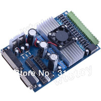 Cheap 3 Axis Stepper Driver Controller stepping motor Driver Board TB6560 Driver Board 3.5A , replace 8435,3977 CNC engraving machine