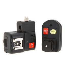 Wholesale Wireless Remote Speedlite Flash Trigger with Umbrella Hole for Canon Nikon Pentax Olympus D850