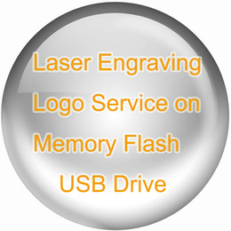 Wholesale Laser Engrave Logo Service on Metal or Wood Memory Flash USB Drive Custom Design Buy USD10 for All Quantity Logo Engraved