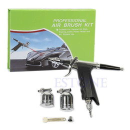 Wholesale Professional mm Dual Action Air Brush Spray Gun Kit Set