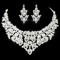 acrylic hair accessories - 2014 Latest The bride accessories married rhinestone necklace hair accessory wedding accessories the bride set piece