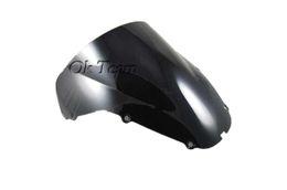 Wholesale Double Bubble Windscreen Windshield For Honda CBR900RR RR ABS black blue Transparent