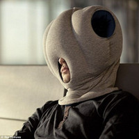 Wholesale Hot sales magic pillow neck protecting office guard nap pillow ostrich travel pillow sleep bag for snooze