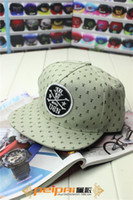 Wholesale Perry sent letters embroidered skull new Korean printing graffiti flat brimmed hats for men and women hip hop hip hop hat wh