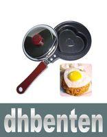 Wholesale LAI327 Non Stick Mini Lovely Heart Shape Egg Frying Pan pan cover MGXA146