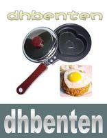 Wholesale LAI330 Non Stick Mini Lovely Heart Shape Egg Frying Pan pan cover MGXA146