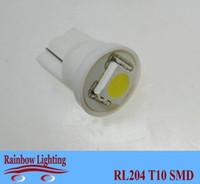 automotive lamps bulbs - V T10 SMD automotive LED bulbs w5w car led light bulb RL204