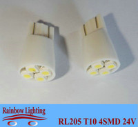 Wholesale Auto led bulbs Light V W5W luggage lights T10 SMD led side mark lights RL205