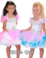 Cheap Little Girls Pageant Dresses Short Pageant Dresses for Girls Ball Gowns for little Girls
