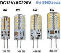 LED ac dc body - G4 led bulbs W W W W SMD LED Crystal lamp light DC V AC V Silicone Body LED Chandelier Bulb LED LED LED LEDs White