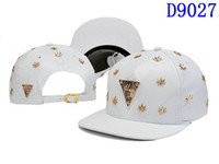 Wholesale Hot Sale Leather Snapbacks PU Hats Snapback Hats Caps white hater Sports Hats for men Adjustable Ball Caps Hats big order send by EMS DHL