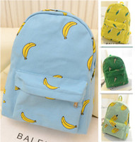 banana popsicles - Banana Popsicles hands onion pattern canvas shoulder bag student backpack schoolbags for girls leisure backpack women