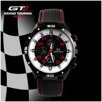 Cheap F1 Racing Sport Watch Grand Touring GT Luxury Brand Japan Quartz Movement Men Military Army Rubber Wristwatch Men's Watches