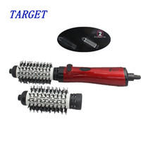 Wholesale hair styling brush comb in1 rotating brush hair combo hair styler air brush Electric hair dryer