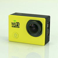 Wholesale 2 inch sj6000 hd action sports camera1080p digital video camcorder extreme helmet camera underwater video camera sj5000 wifi