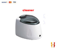 Wholesale Professional Ultrasonic Denture Cleaner CD CD jewelry ultrasonic cleaner small type vacuum cleaner