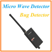 Wholesale High Sensitive Broad Spectrum Micro Wave Detector Bug Detector Audio Detector