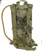 animal carriers - 3L Tactical Mandrake BKH hydration backpack Rattlesnake water bag with Carrier bladder shoulder Strap