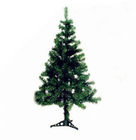 Wholesale Hot Colour purity Easy Assembly Christmas tree Artificial naked thicken pine needle Trees Decorations Large christmas ornaments