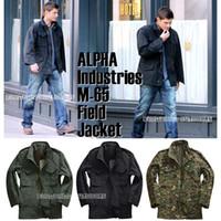 Wholesale M65 Vintage Nylon Cotton Windpoof Keep warm Hoodie windbreaker Men s Outdoor jacket for Outdoor coat sport wear