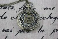 steampunk - Pentagram supernatural pentagram charm steampunk pocket watch