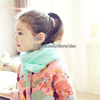 Wholesale Korean Girls Scarves Children Scarves Autumn Winter Scarf Kids Scarves Girl Scarf Fashion Long Scarves Kids Scarf Children s Accessories