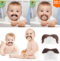 Wholesale 2014 colors Cute Baby Funny Dummy Prank Pacifier Novelty Teeth Children Child Soother Nipple Baby Mustache Newborn Dummy topB434