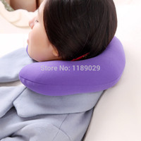 travel pillow - Soft U shape Neck Protection Health Care Pillow Travesseiro for Flight Plane Bus Car Camping Travel Home Office Siesta Rest Nap