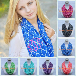 Wholesale New High quality Quatrefoil scarf Chevron Infinity Scarf Women and Teens Circle Loop scarf circle ring scarf Loop scarf