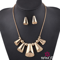 Wholesale Statement jewelry Set Fashion Latest Jewelry Set Top Selling Costume Necklace Multi Color High Quality Factory Supply Fashion Jewelry