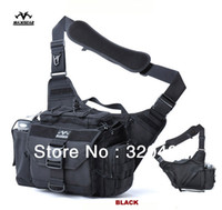 Wholesale Outdoor Waterproof Photography Bag Big Capacity Military Camera Alforja Army Sports Messenger Bag YKK Zipper