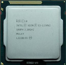 free shipping Intel e3-1230 v2 scattered pieces cpu 1155 interface Server CPU Intel Xeon Intel Itanium