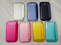 Cheap Oracle Transparent Protector Cases Phone Case Back Cover Cell Phone SKin Cases For Samsung S3 9300 Mix Order Give Retail Box DHL Free Shipp