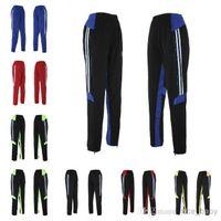 Men adult training pants - Adult Football Pants Soccer Training Pants Leg Pants Legs Track Casaul Pants Breathable Sports Trousers Free Ship