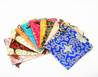 Wholesale High End Damask Printed Drawstring Travel Shoe Storage Bags with lined Shoe Cases Pouch size x cm Mix Color