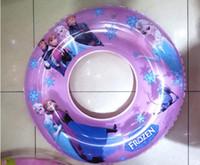 Wholesale Swimming rings inflatable Freds Frozen Anna Elsa Princess Cartoon underarm laps kids