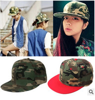 Wholesale Hot Selling Adjustable Plain Blank Snapback hats Camo Snapbacks Snap Back Adjustable Caps Hat Mix Order colors High Quality