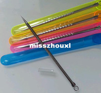 Wholesale High quality New Arrive x Stainless Steel Blackhead Pimples Acne Needle Tool