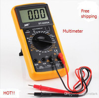 Wholesale Digital multimeter digital multimeter dc ac volt meter voltmeter ohmmeter Ammeter top quality multimeter digital fluke