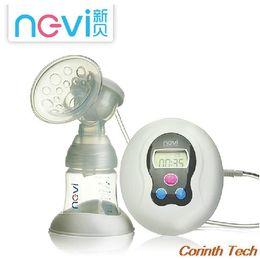 Wholesale NEVI PP Electric Breast Pump BPA Free Material Milk Pump FDA PP Material Easy to Assemble Silent Motor Breast Feeding RetailBox