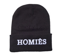 homies - New HOMIES Style Fashion Men Women Skull Beanie Hat Winter Fall Hiphop Warm Cap C1376